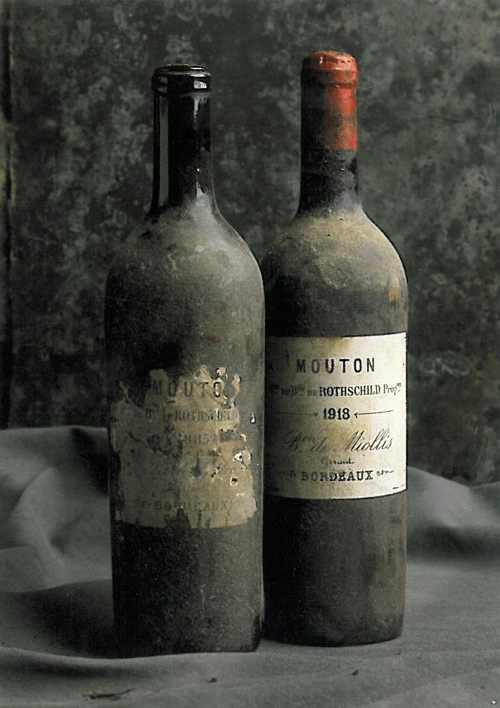 old french wine bottle images