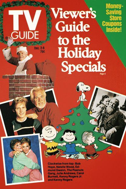 TV Guide Covers 1960s | ... no comments links to this post labels 1980s christmas tv guide