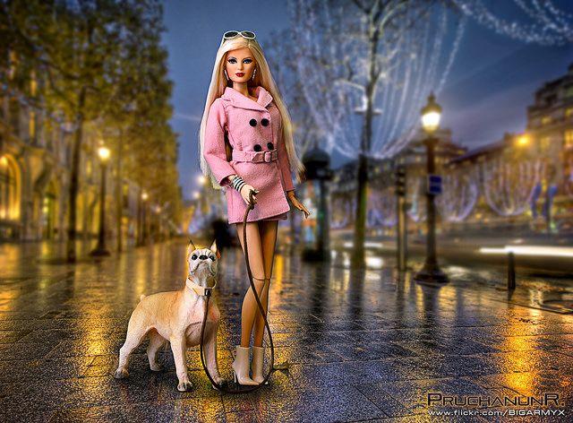 Repost:: Barbie in Paris   Barbie Basics 2.5   Louboutin F…   Flickr