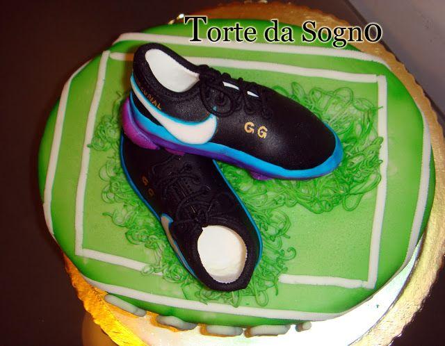 Torte da Sogno di Romina Minniti: Le scarpe del calciatore!