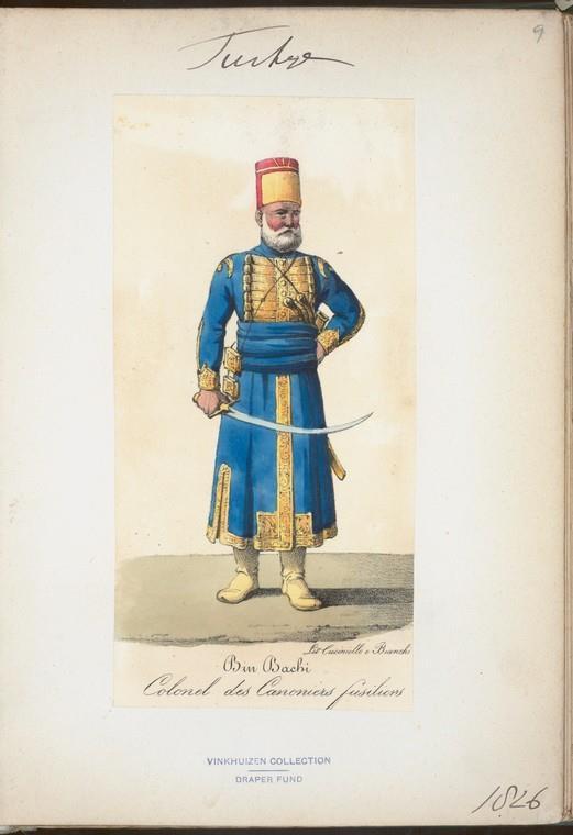 Turkish soldier 1826
