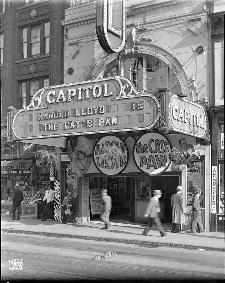 Capitol Theatre, Granville Street, 1934
