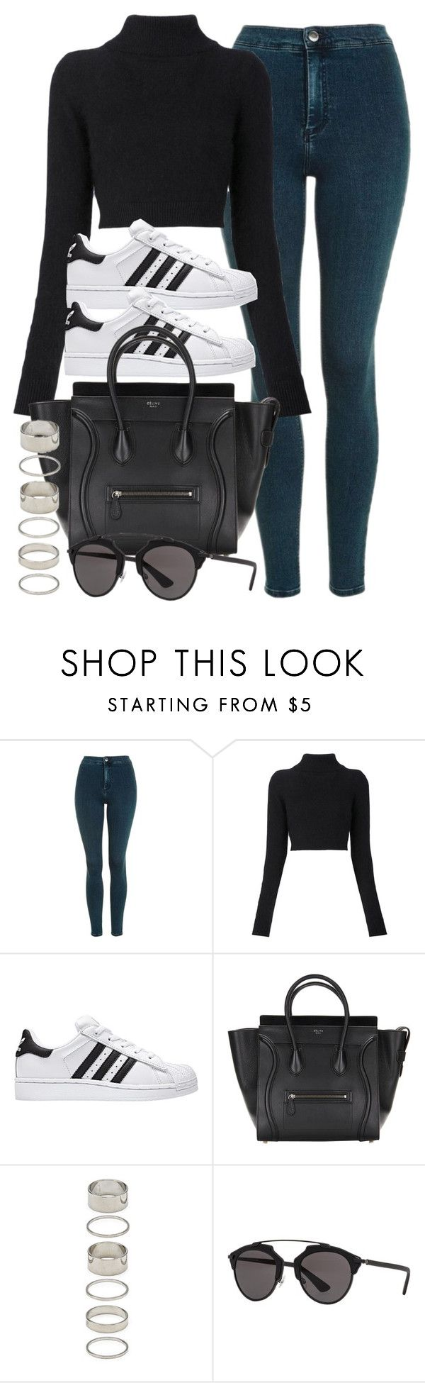 """""""Sin título #11989"""" by vany-alvarado ❤ liked on Polyvore featuring Topshop, Balmain, Forever 21 and Christian Dior"""