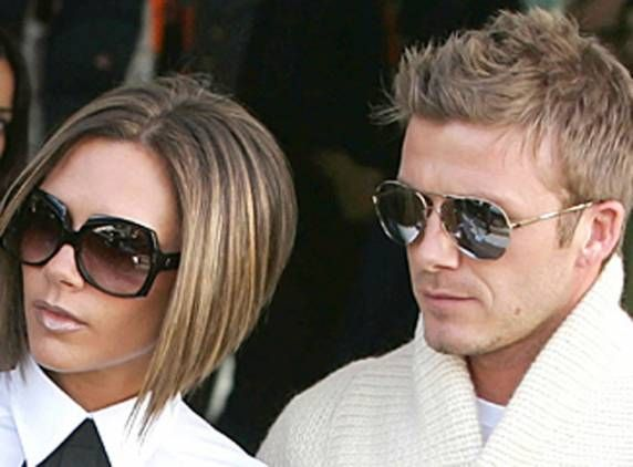 Victoria and David Beckham are two of the most celebrated and photographed transplants from the UK to Los Angeles. {celebrities, L.A. sports, Posh Spice, football, soccer, Galaxy, Spice Girls, Beckham kids}