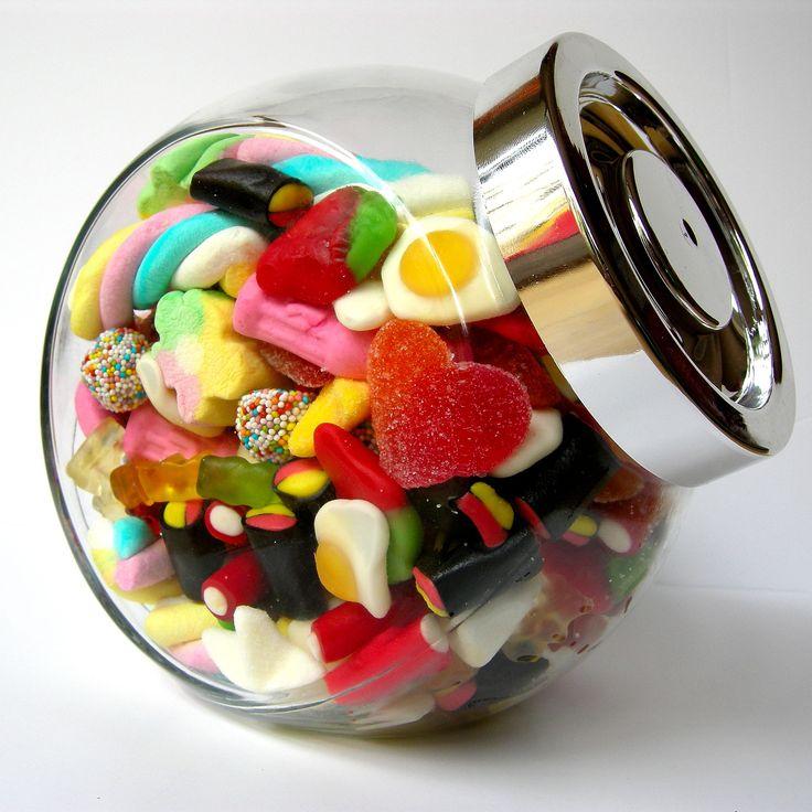 Tarro chuches. Sweets jar