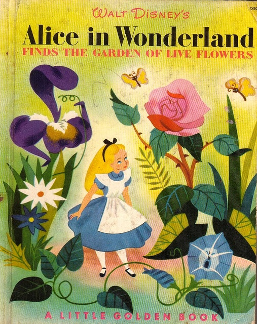 Alice Golden Book. It appears to be just the Golden Afternoon scene? Cool!