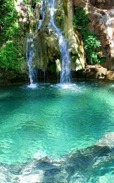Waterfall, Kythera, Fonissa, Greece