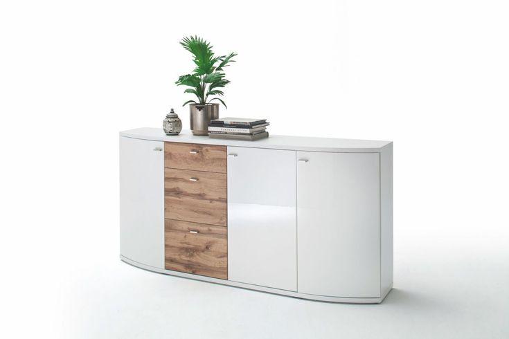 Die besten 25+ Sideboard weiss Ideen auf Pinterest Ikea-gang - wohnzimmer weis nussbaum