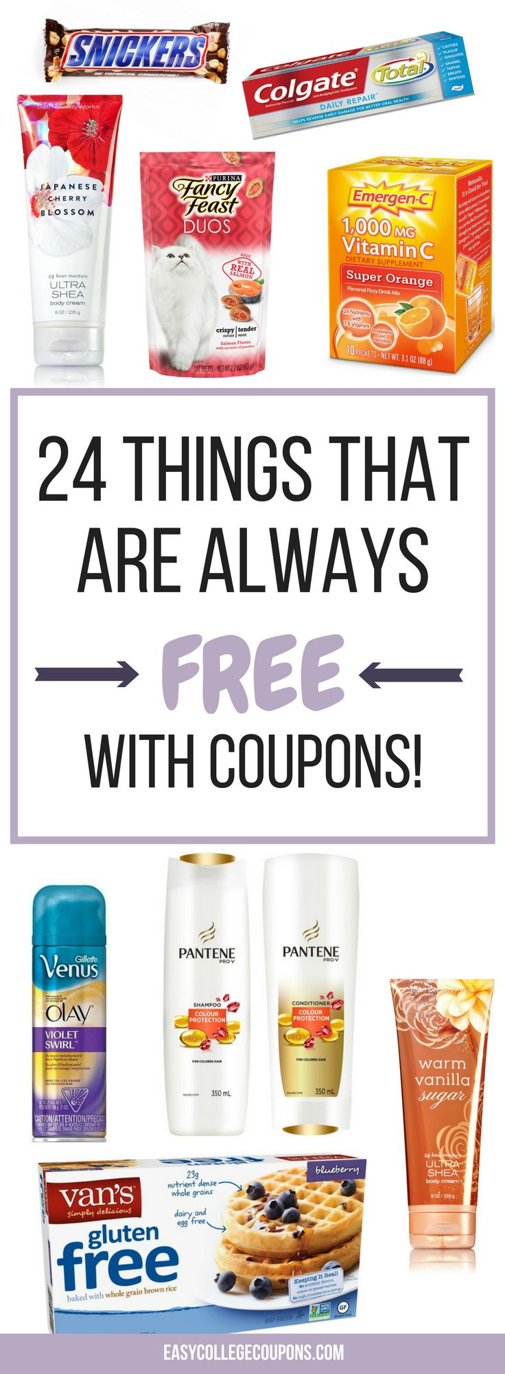 Things that are free with coupons | Free Stuff | Freebies | Couponing for Beginners | Save Money on Groceries or Make Up