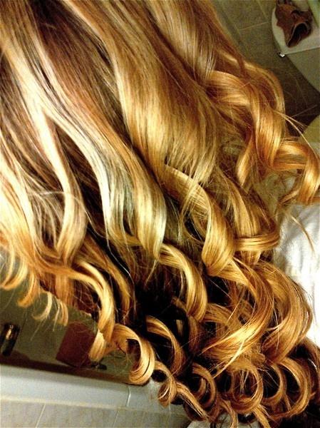 curls, curls, beautiful curls!