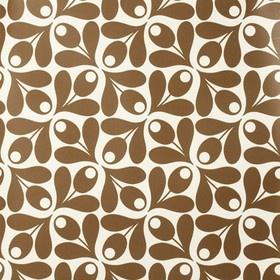 Acorn Wallpaper Cocoa-Orla Kiely-Print godess