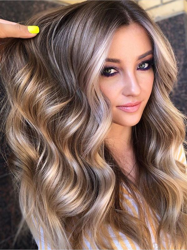 Fantastic Balayage Shades For Long Thick Waves Hair In 2019 Gorgeous Hair Color Hair Color Light Brown Brown Hair Dye