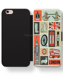 London Collage Art iPhone cases, Samsung case, Wallet Phone cases