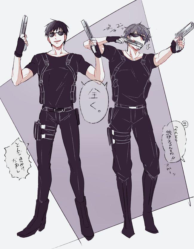 Commander Shinoda and Tachikawa