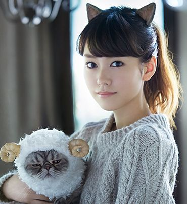 Mirei Kiritani (Japanese actoress, fashion model, news caster)