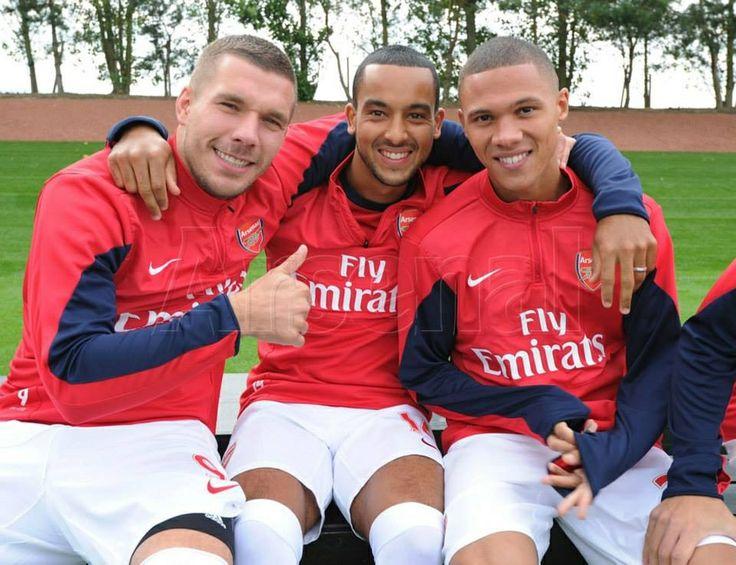 Lucas, Theo & Kieran Gibbs