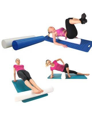 Roll'mouss - méthode Pilates Le Roll'Mouss est un accessoire résistant en polypropylène qui permet un grand nombre d'exercices notamment pour les adeptes de la méthode Pilates. Il aide à la maitrise de l'équilibre et au renforcement des muscles posturaux. #gym #fitness #yoga #methodepilates #pilates #sante #remiseenforme