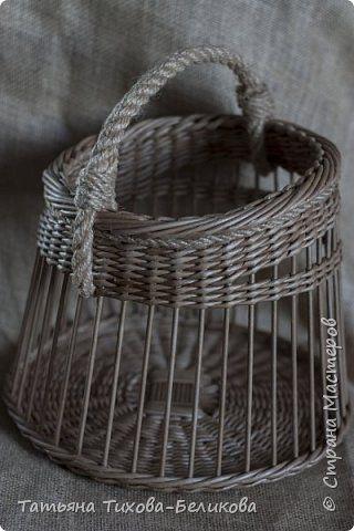 Поделка изделие Плетение Ажурное настроение Бумага газетная Трубочки бумажные…