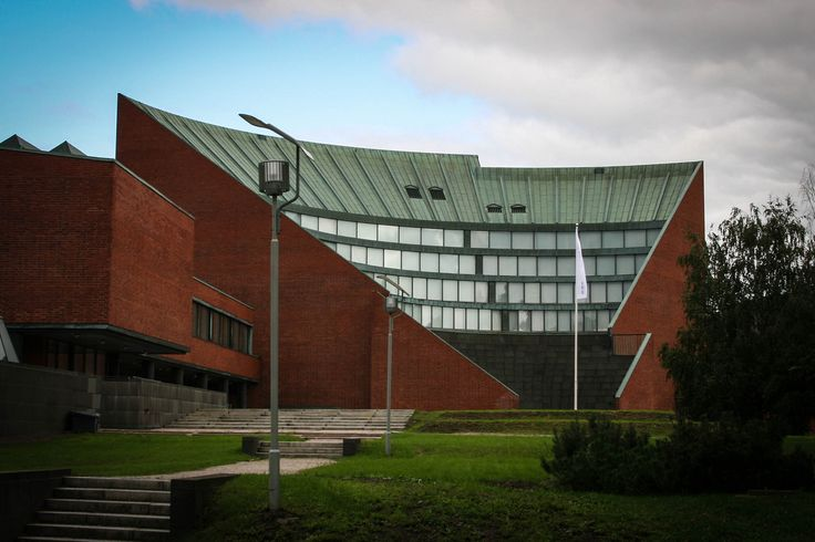 """Alvar Aalto •1898 – 1976, Finnish •""""Father of Modernism"""" in Nordic countries – helps develop modern Scandinavian style of architecture and design •Career develops from Nordic classicism to Functionalism to more modern, more personal style - proponent of his own version of organic architecture"""