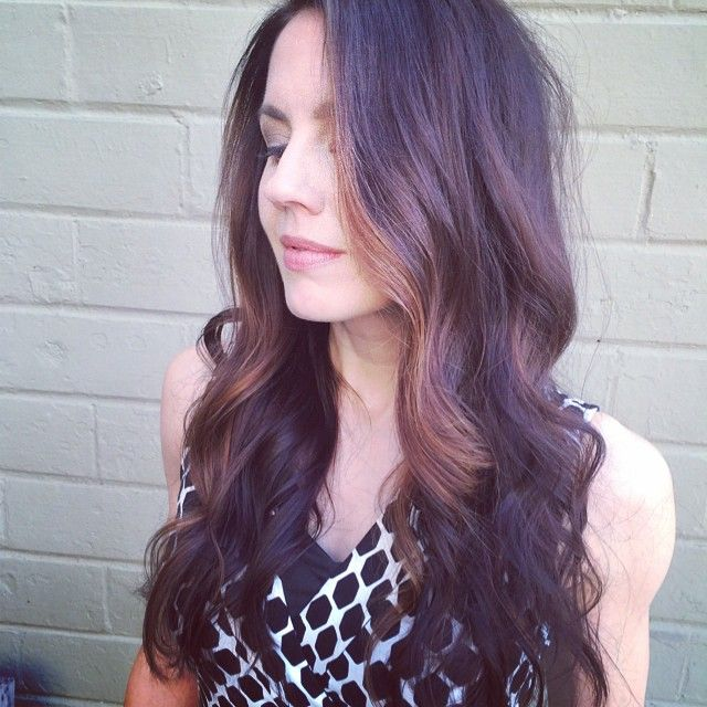 20 best hair color love images on pinterest hair coloring s u b t l e caramel highlights for a brunette davines color by kelly this lovely lady is even prettier on the inside if you can believe it pmusecretfo Gallery