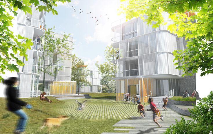 Galería de Primer Lugar en Concurso de viviendas y espacio verde público / Aarau, Suiza - 2