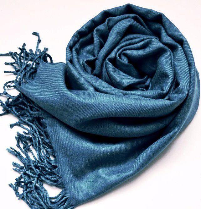 "Cashmere Blue Stole ""Black Sea"". Cashmere Scarf. Cashmere Wrap. Blue scarf. Blue Stole. Blue Scarf. Blue Wrap. by VUGASHOP on Etsy"