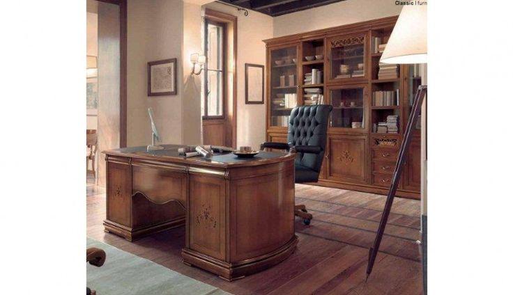 Eleganckie biurko od Rad-Pol Meble Stylowe. Zapraszamy do naszego salonu :) http://www.mega-meble.pl/produkt-Biurko_8122-1670