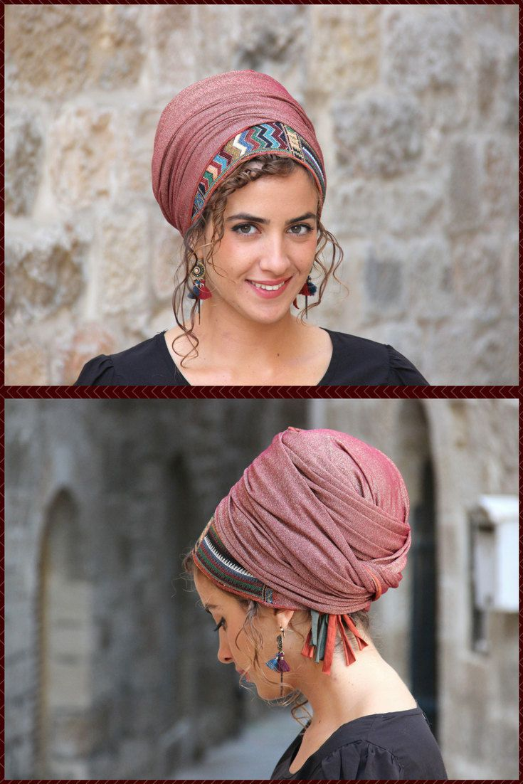 Rothem Authentic Headscarf TICHEL, Hair Snood, Chemo Snood, Head Scarf, Umber Head Covering, Jewish Headcovering, Scarf, Bandana, Apron http://etsy.me/2tlNkvg #accessories #hair #headband #brown #bronze #headcoveri