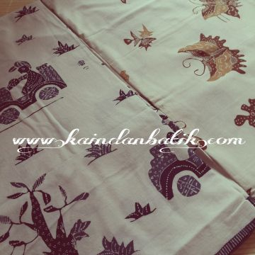 Batik Tulis Kumpeni  Dasar Putih Uk.2mx1m IDR 125.000 www.kaindanbatik.com