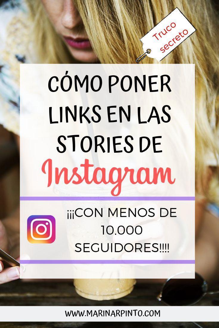 Cómo poner links en Instagram Stories sin tener 10.000 seguidores