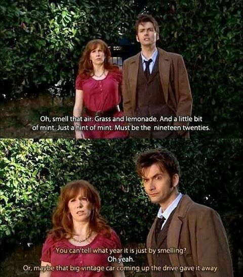 I miss Donna. =) Doctor Who.