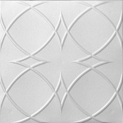 """Styrofoam Ceiling Tile - 20""""x 20"""" #R82   Designer Ceiling Tiles"""