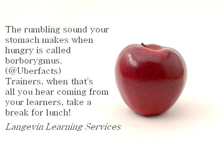 Break often in #training!