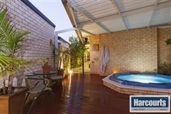 Outdoor spa for cold winter night! To view more of this property check out www.RegalGateway.com #realestate #harcourts