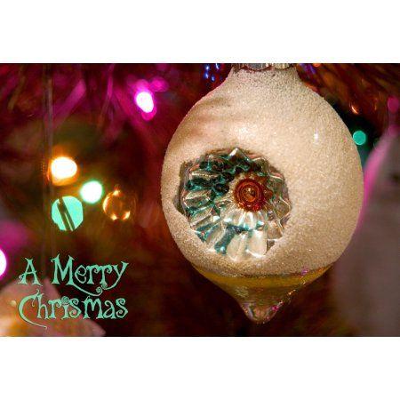 Christmas tree ornaments Canvas Art - Savanah Stewart Danita Delimont (16 x 11)