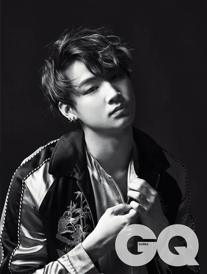 JB GOT7 for GQ                                                                                                                                                                                 Plus