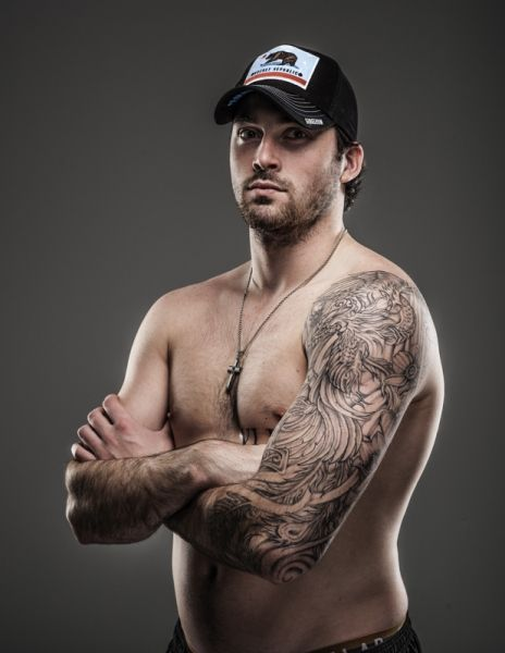 Erik Gudbranson FL Panthers... Clearly I need to go to a game to see this up close and personal.