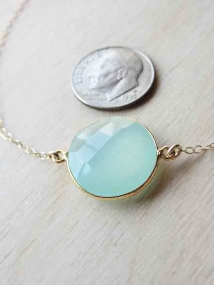 Peruvian Chalcedony Necklace