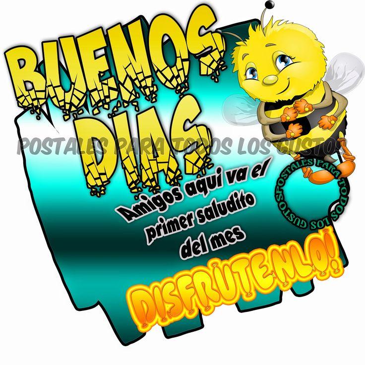 Postales Para Todos Los Gustos: BUENOS DIAS | Buenos dias ...
