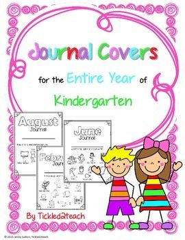 These are super cute writing journal covers for early elementary grades.  Each cover has examples of how to draw common pictures.  The first few covers have specific goals on the front like drawing and labeling pictures, writing a simple sentence, and writing with details.