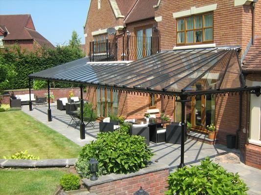 Period Classic Verandah Large Patio Canopy Pergola