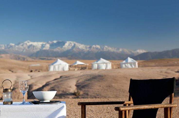 The serene magic of desert camping at Scarabeo Stone Camp | Luxury Hotels Travel+Style