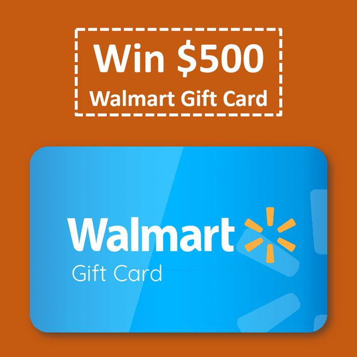 500 walmart gift card giveaway giveaway and goodies fandeluxe Image collections