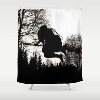 Häxsabbat+Shower+Curtain+by+Old+Hag+-+$68.00