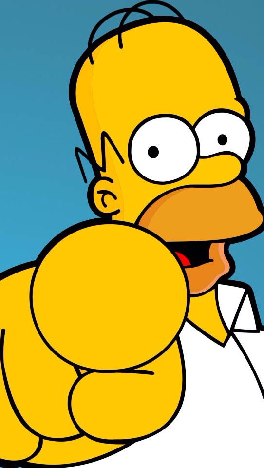 Simpson's wallpaper. Homer #simpson. Funny pictures at www.freecomputerdesktopwallpaper.com/humorwallpaper.shtml
