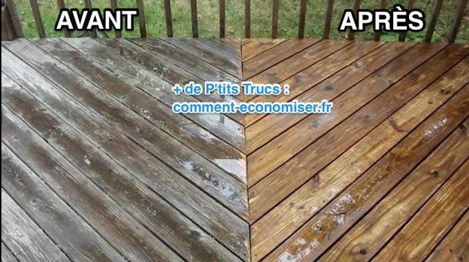 Le bois peut devenir gris en vieillissant si on n'en prend pas assez soin.Surtout s'il est dehors en proie aux intempéries et au soleil.Vous cherchez une astuce pour raviver sa couleur d'origin