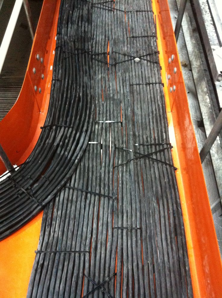 Power Cable Tray Below Raised Floor Access Floor Data