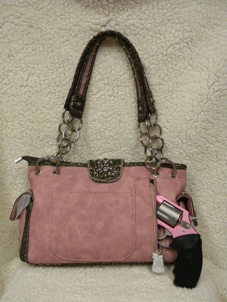 Womens Bling Purses and Bags Concealed weapon bling purse