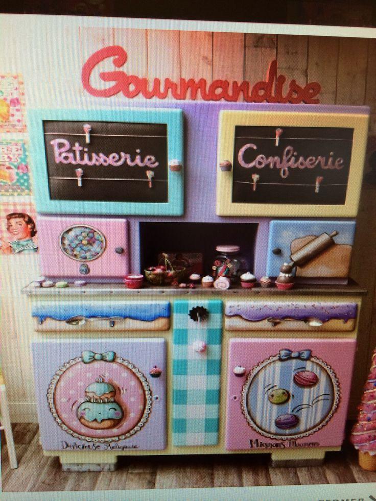 43 best images about les buffets mado on pinterest - Decaper un meuble ...