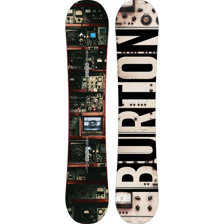 Burton Blunt Wide Snowboard - $439.95 - The Burton Men's Blunt snowboard is ready to shred everything. The Flying V bend gives you the grip to stomp landings and ride hard pack fast. The catch free feel on the flying V bend is perfect for easy jibbing and surfing. Scoop and pro-tip makes it easy to make those quick spins and turns.